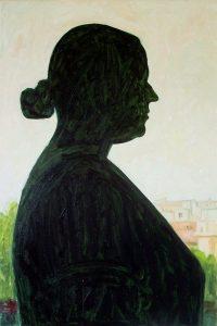 Contre-jour V - oil on canvas, 60x40cm, 2009