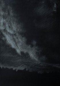 Sky 24 - pencil on paper, 49.8x35cm, 2014