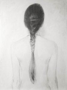 Identity (I) - oil on linen, 80x60cm, 2016