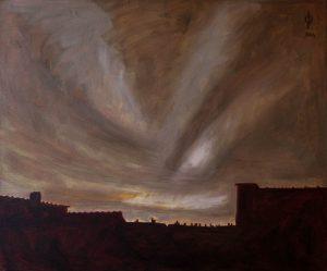 Ter Streep- East End VII, oil on canvas, 50x60cm, 2014