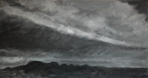 Where I Live (IV), oil on linen, 33x62cm, 2017
